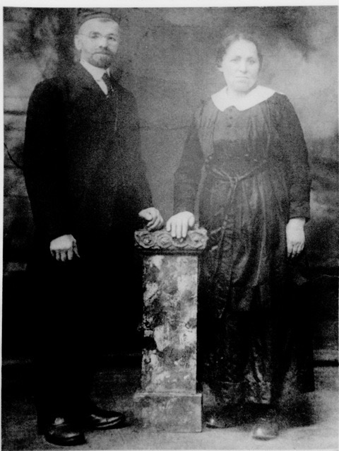 Simon and Hannah Berlin, Barbara Artson maternal grandparaents.