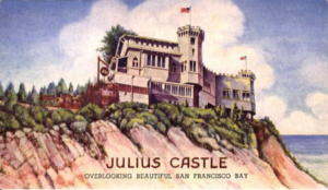 ilustration of San Francisco restaurant Julius Castle